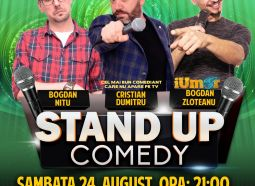 Stand-Up Comedy Bucuresti, Sambata 24 August 2019