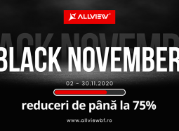Allview lansează Black November