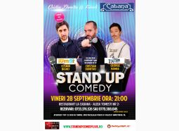 Stand-Up Comedy Vineri Bucuresti 28 Sepetmebrie