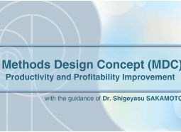 Curs Methods Design Concept (MDC): Productivity and Profitability Improvement