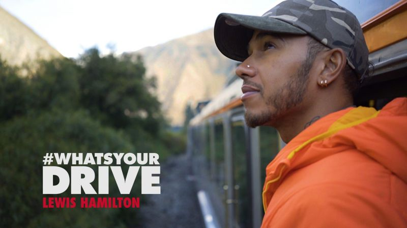 WhatsYourDrive Lewis Hamilton For Tommy Hilfiger